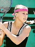 Tennis beauty Anna Kournikova